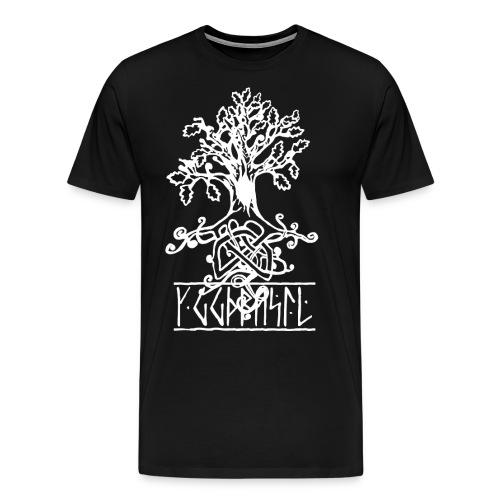 yggdrasil -the norse tree of life - Men's Premium T-Shirt