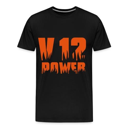 V12 POWER - Männer Premium T-Shirt
