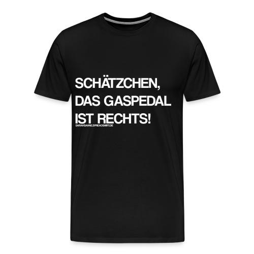 Gaspedal - Männer Premium T-Shirt