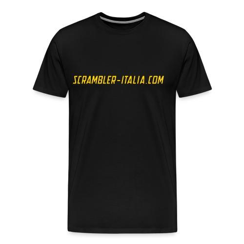 scritta gialla png - Maglietta Premium da uomo