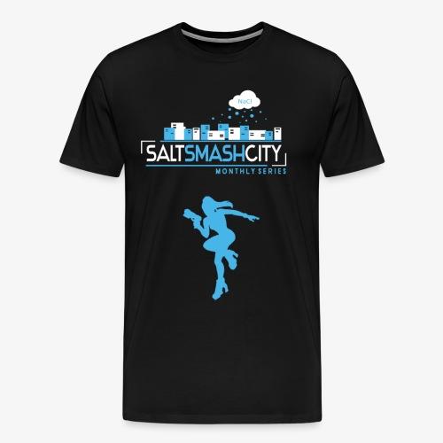 Salt Smash City ZZS 2 Variante png - Männer Premium T-Shirt