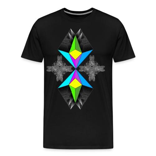 t shirt pyramide 02 gif - Männer Premium T-Shirt