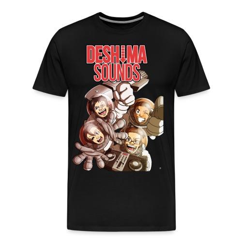 Abunai2016 png - Mannen Premium T-shirt