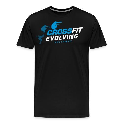 Holloway - Black BG - Blu - Men's Premium T-Shirt