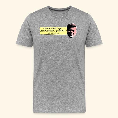 KENNEDY - Männer Premium T-Shirt