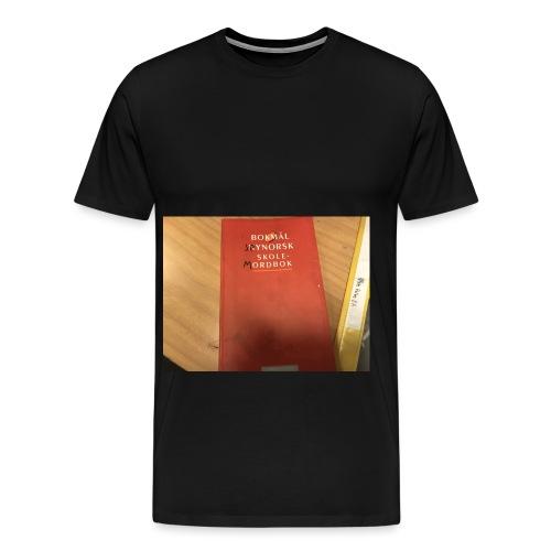 Sannheten om ny norsk - Premium T-skjorte for menn