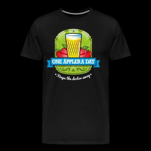 One Äppler a day - Männer Premium T-Shirt