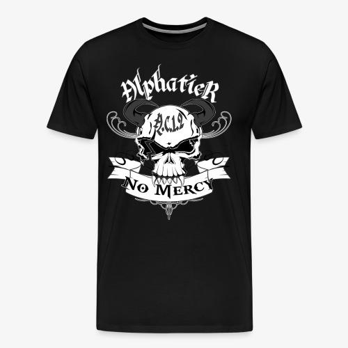 Alphatier ~ No Mercy - Männer Premium T-Shirt