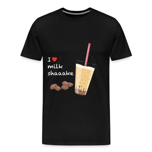 Milkshake - Männer Premium T-Shirt