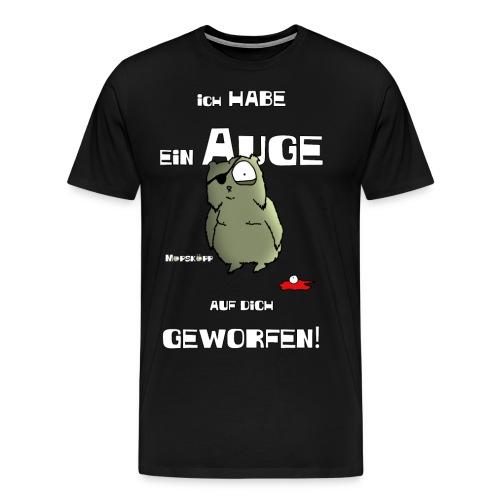 ich habe ein auge auf dich - Männer Premium T-Shirt