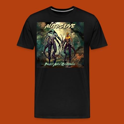 aliens live - T-shirt Premium Homme