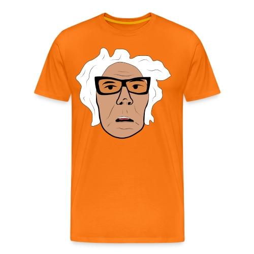 GA ansikte normal png - Premium-T-shirt herr