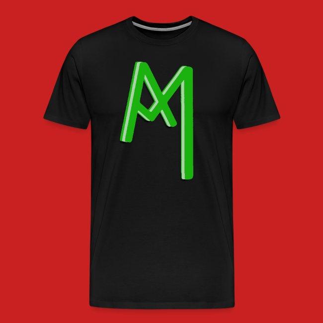 Monogram 3D Green png
