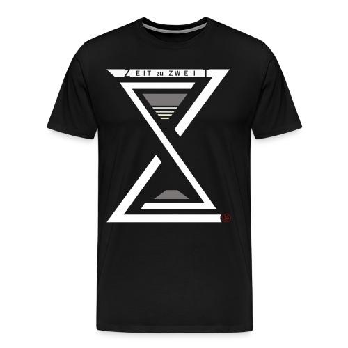 Zeit zu Zweit by iKAB (white) - Männer Premium T-Shirt