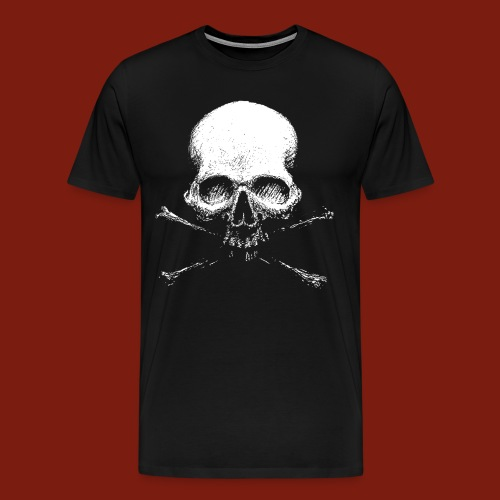 Old Skull - Men's Premium T-Shirt