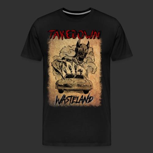 Wasteland Artwork - T-shirt Premium Homme