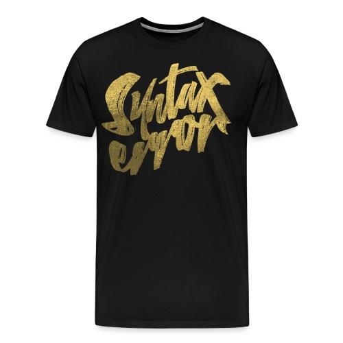 Syntax Error - Premium-T-shirt herr