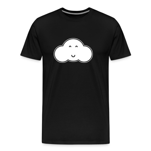 happycloudtrans png - Men's Premium T-Shirt