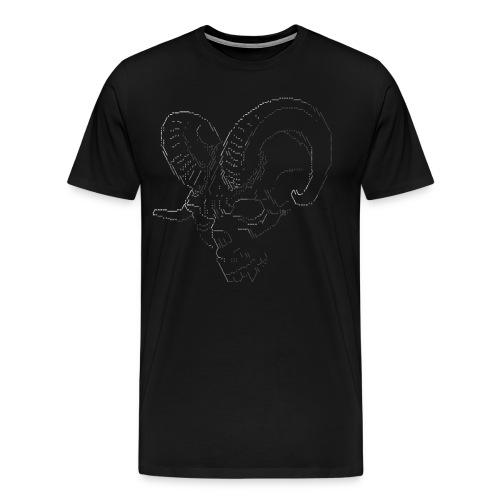 ASCII DEMON - Men's Premium T-Shirt