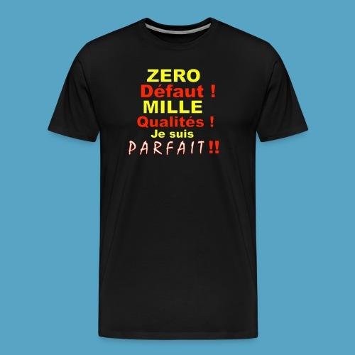 ZERO DEF PHOT .png - T-shirt Premium Homme
