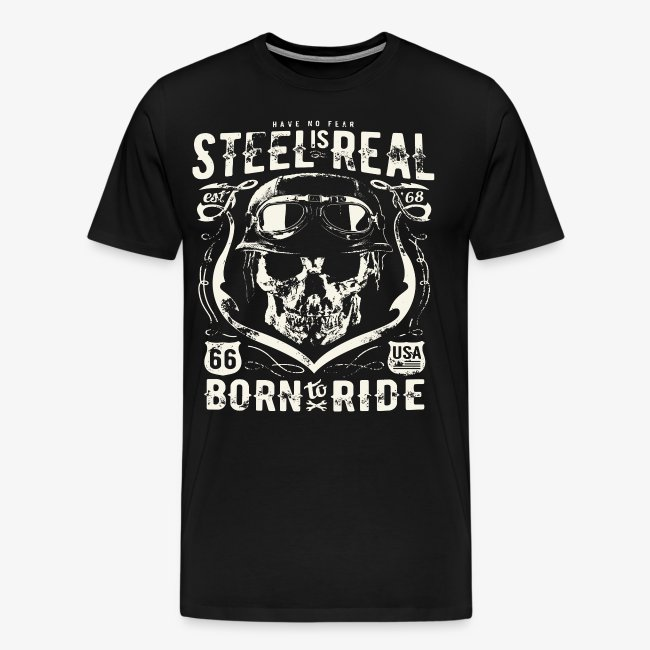 Avez-No Fear Is Real Steel Born to Ride is 68