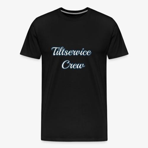Tiltservice Crew - Premium-T-shirt herr