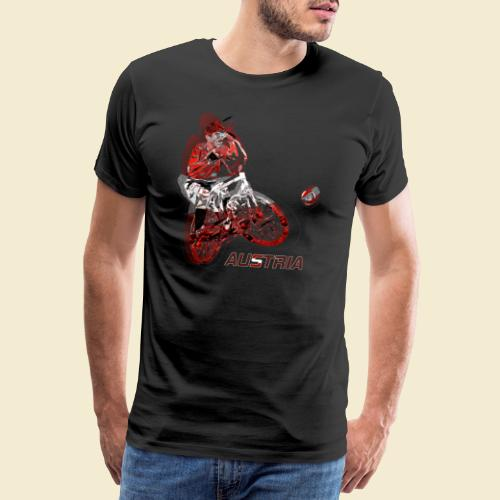 Radball | Austria - Männer Premium T-Shirt