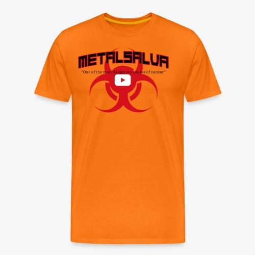 METALSALVA Cancer #1 - Maglietta Premium da uomo