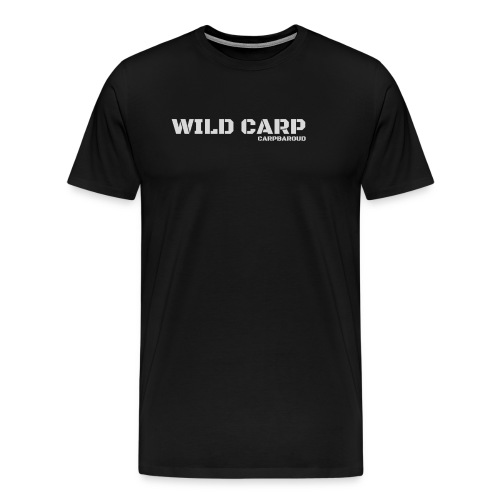 WILD CARP GRIS - T-shirt Premium Homme