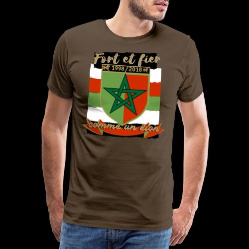 maroc maghreb lion - T-shirt Premium Homme