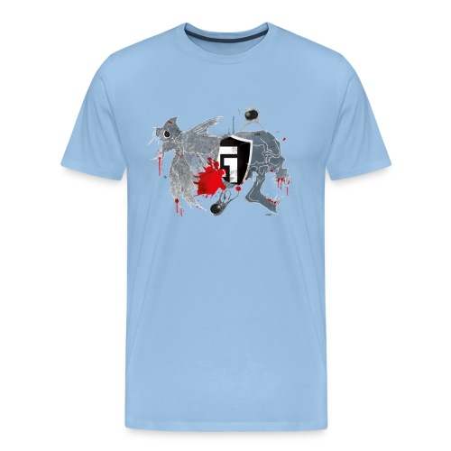 shirt2black - Men's Premium T-Shirt