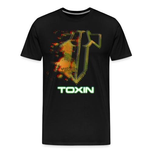 TOXIN Shirt Logo png - Männer Premium T-Shirt