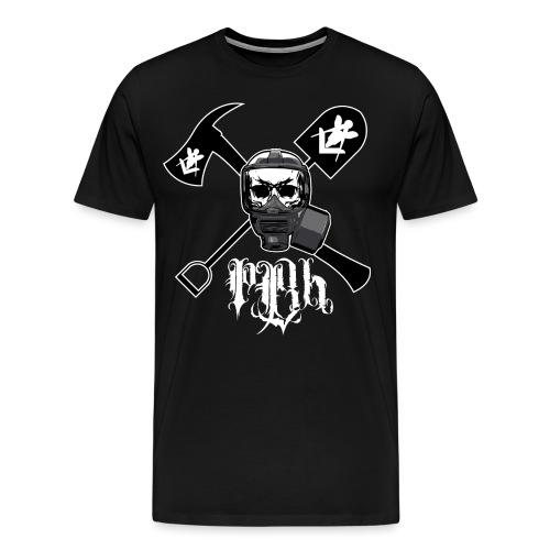gasmask - Miesten premium t-paita