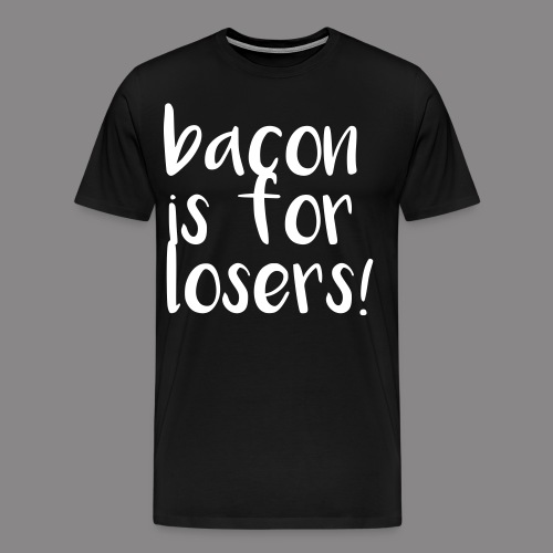 bacon - Männer Premium T-Shirt