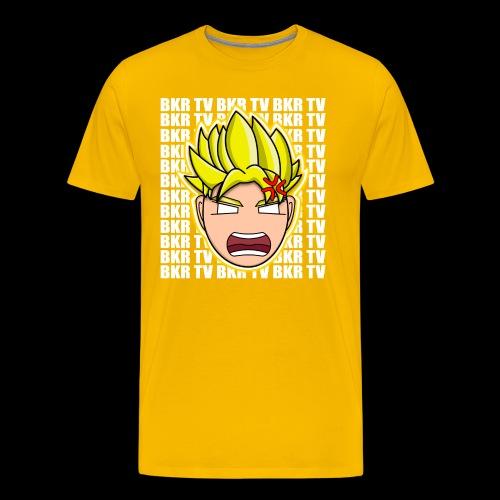 BKR TV SUPER SAIYAN - Men's Premium T-Shirt