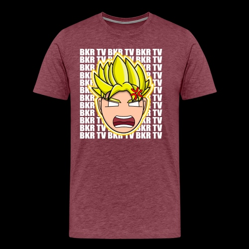 BKR TV SUPER SAIYAN - Men's Premium T-Shirt