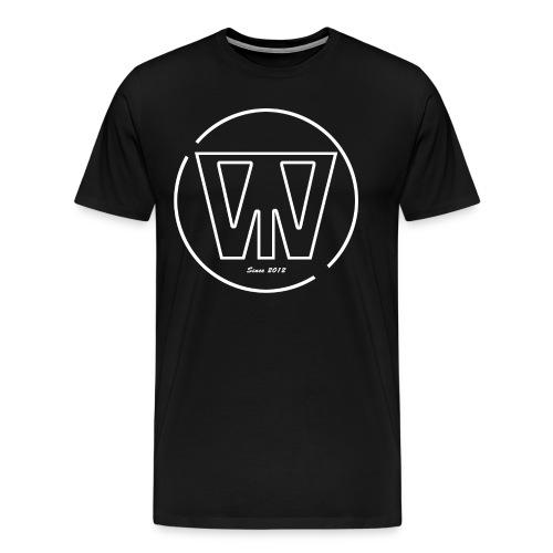 W/T Logo Tee - Hvid - Herre premium T-shirt