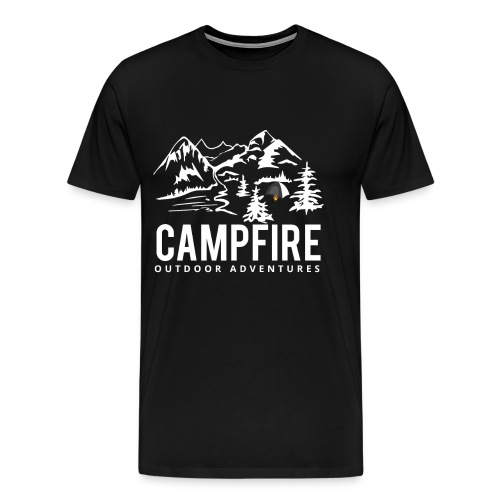 Camping Outdoor Lagerfeuer Geschenk Idee - Männer Premium T-Shirt