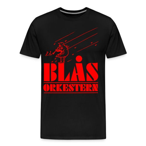 BlåsorkesternV - Premium-T-shirt herr