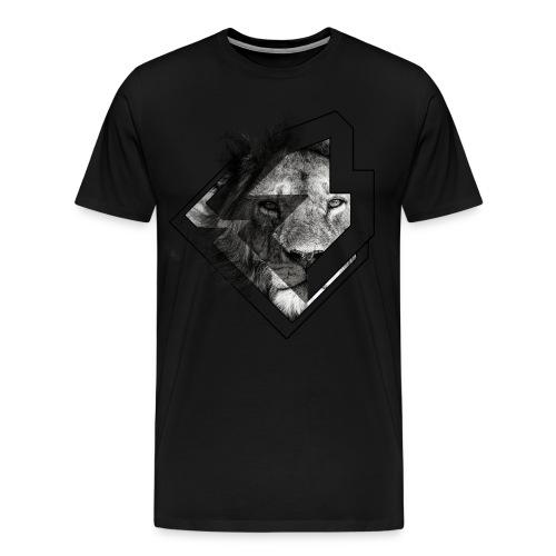 king-lion-brawl - Mannen Premium T-shirt