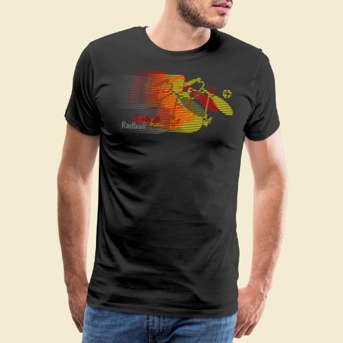 Radball | Earthquake Germany - Männer Premium T-Shirt
