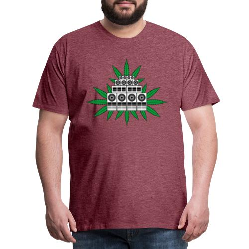 Ganja Sound System - Men's Premium T-Shirt