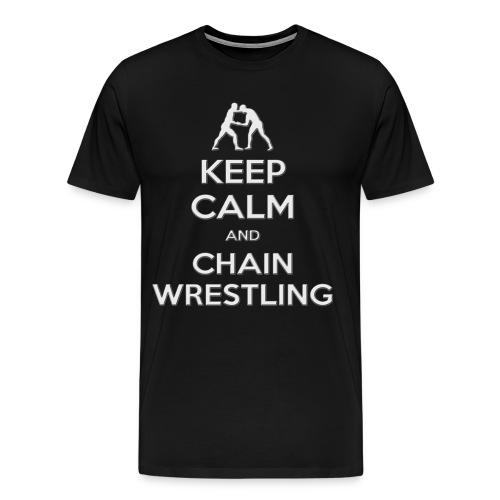 keepcalm chain2 - Maglietta Premium da uomo