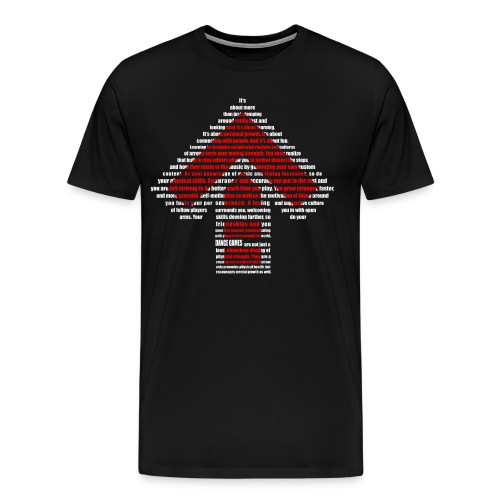 dance games - Männer Premium T-Shirt