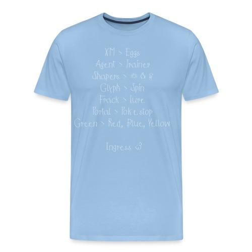 ingressssssshirt png - Männer Premium T-Shirt