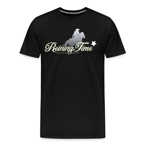 Reiningtime Brand Logo Design - Männer Premium T-Shirt
