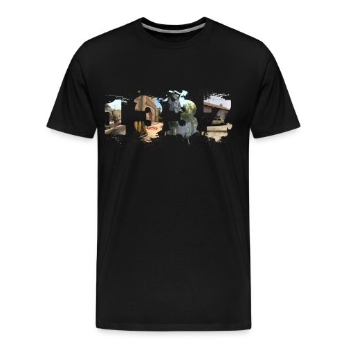 1337 png - Men's Premium T-Shirt