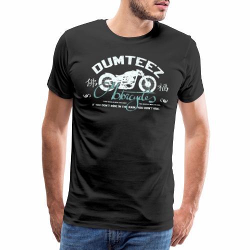 Dum Bike White - Mannen Premium T-shirt