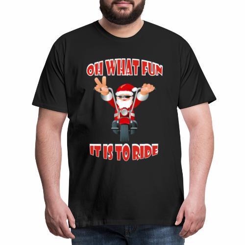 oh what fun - Men's Premium T-Shirt