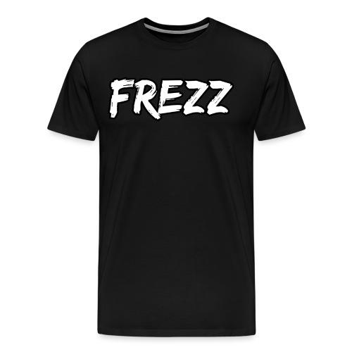 T Shirt FREZZ Noir&Blanc Classique (NOIR) - T-shirt Premium Homme